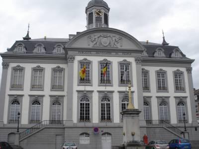 Restauration d'une façade à Verviers